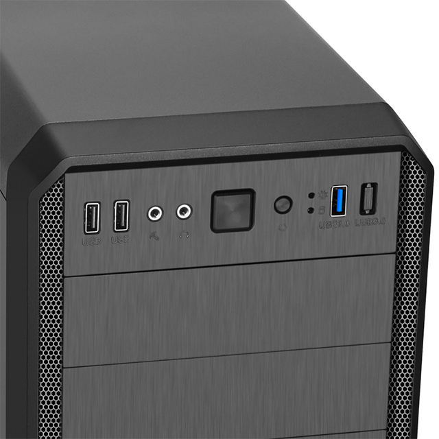 SAMA Tarik (black full-side water-cooled) U3 game chassis