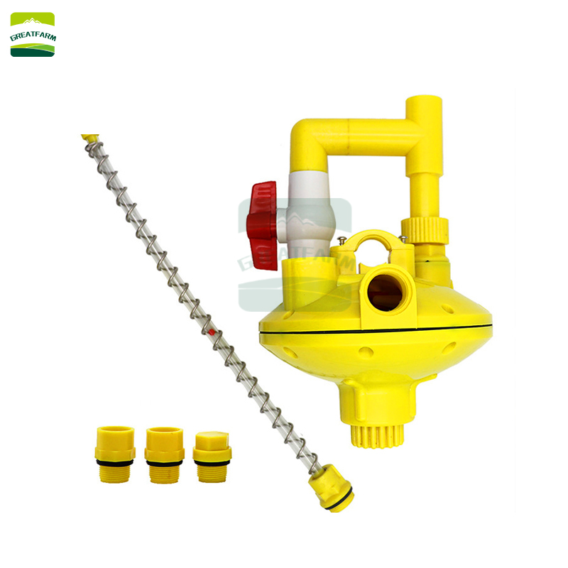 Poultry drinking water pressure pump Water pressure regulator for chicken farm Water pressure adjustment tool