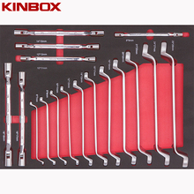 Kinbox Professionele Hand Tool <span class=keywords><strong>Set</strong></span> Item TF01M308 Wrench <span class=keywords><strong>set</strong></span>