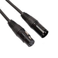 XLR male to female balanced cable for audio and video product