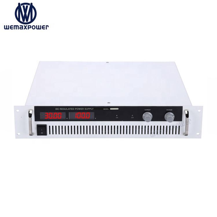 WEMAXPOWER 3kw 0-100VDC 0-30A dc Стабилизированный импульсный переменной 220v источник питания переменного/постоянного тока 100v 30a