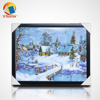 hot sale modern art 3d pictures of wolf 3d lenticular poster