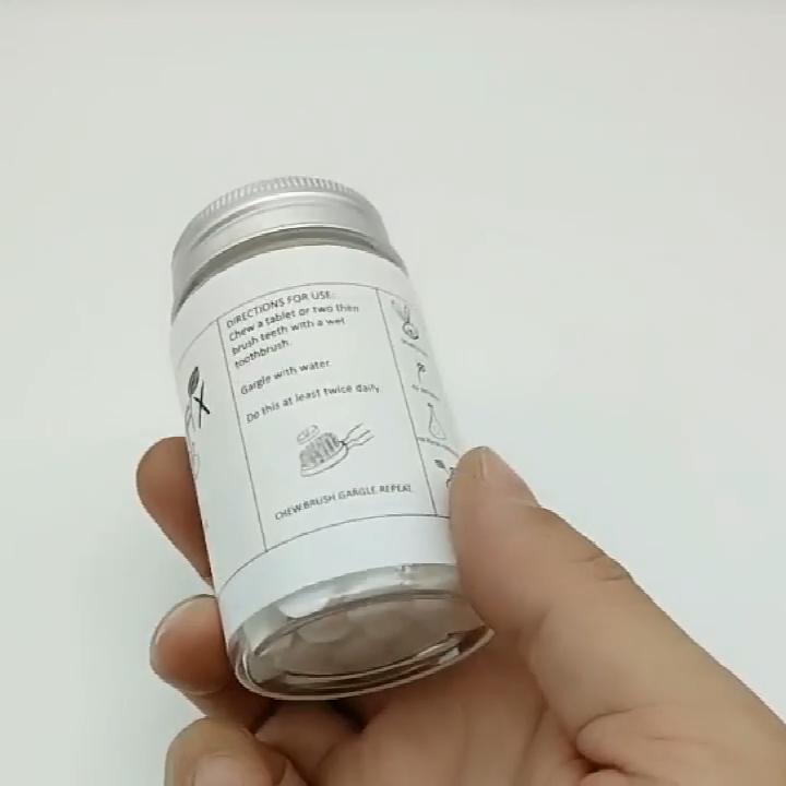 אישית חבילה 1 חודש סט טבעי משחת שיניים גלולות יצרן