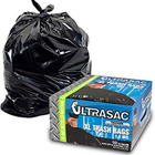 Clear Trash Bags 33 Gallon 100 Count Large Clear Plastic Recycling Garbage Bags 33 x 39 Clear