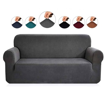 Soft High Stretch Jacquard Sofa