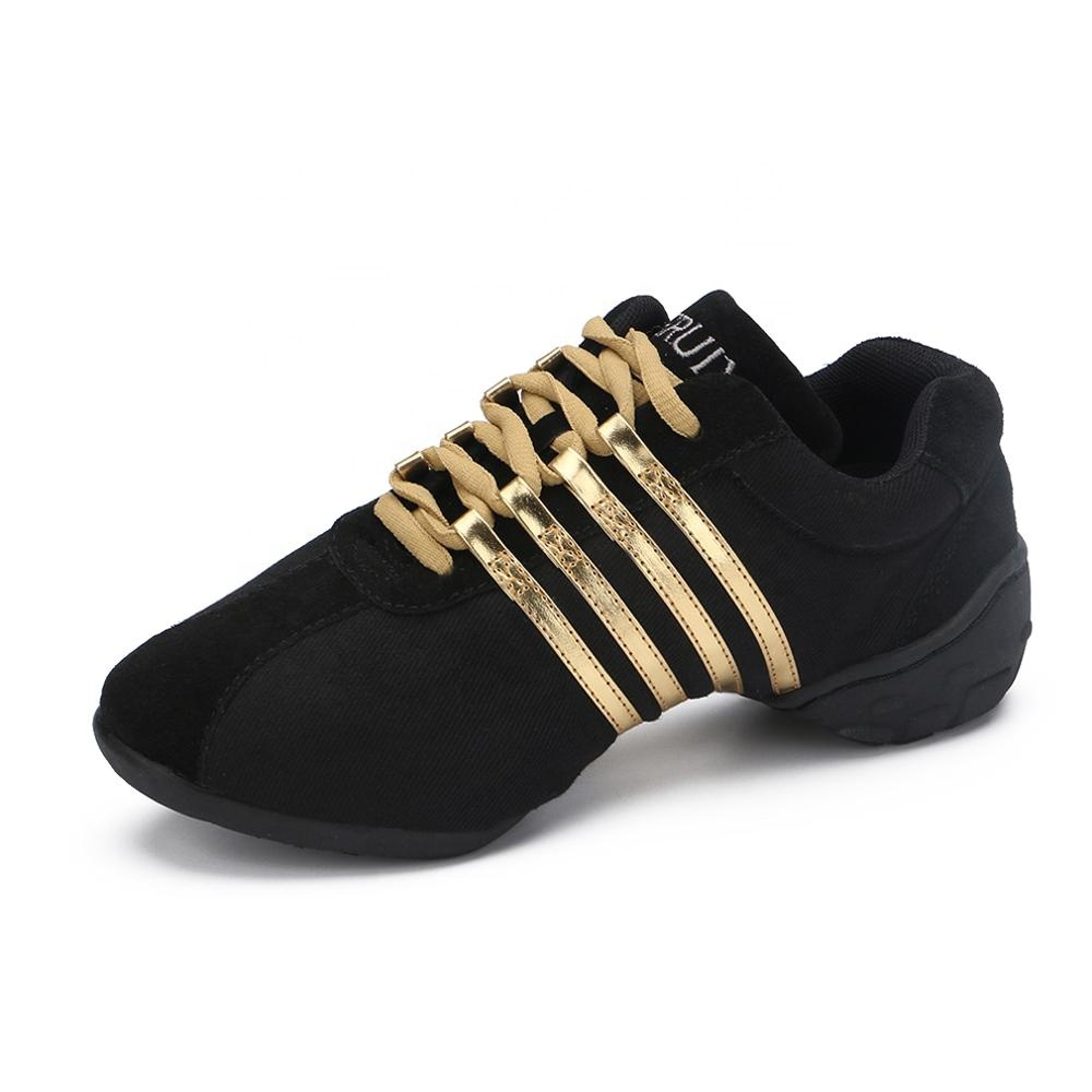 Ex-factory price Women Square Dancing  Shoes Breathable   Dance Sneakers