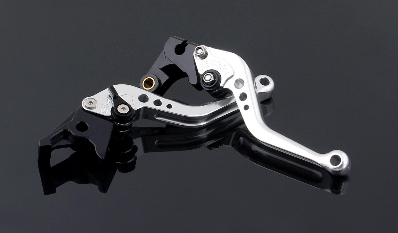 Areyourshop Brake Clutch Levers Fit for Yamaha FZ1 FAZER//GT FZ6R FZ8 XJ6 FZ6-Fazer//S2 Silver