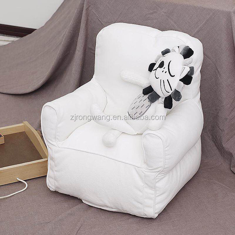 Ins hot item nursery school furniture baby mini soft seat sofa chair