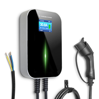 Type 1 32A car charging station wallbox ev charger station for car