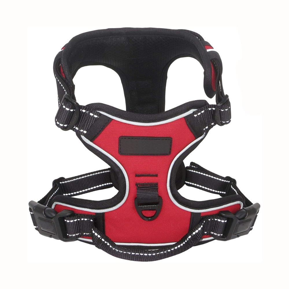Wholesale Front Range non pull Dog Harness padded with Handle Vest Adjustable Large Dog Harness