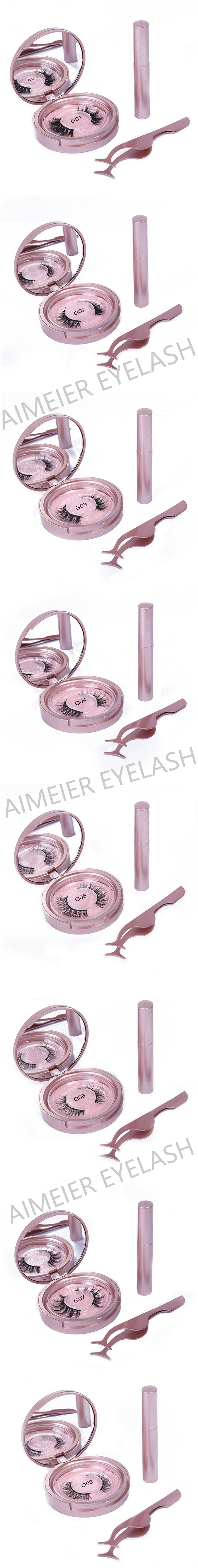 waterproof safety good price false eyelash lashes 3d mink eyelashes