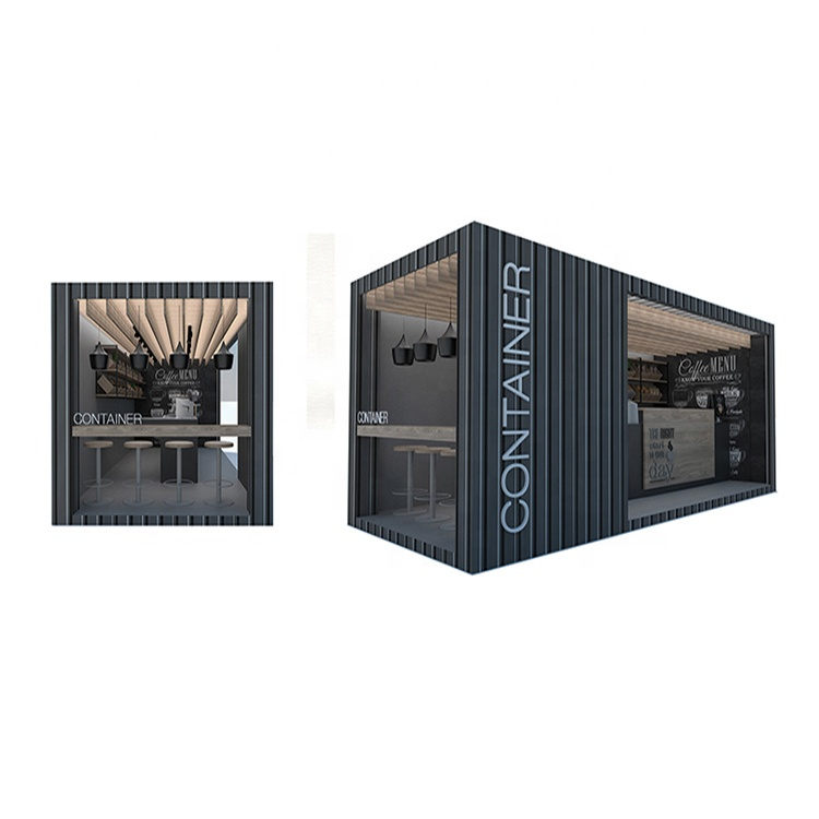 2020 innovative products design outdoor mobile shipping container shop for sale