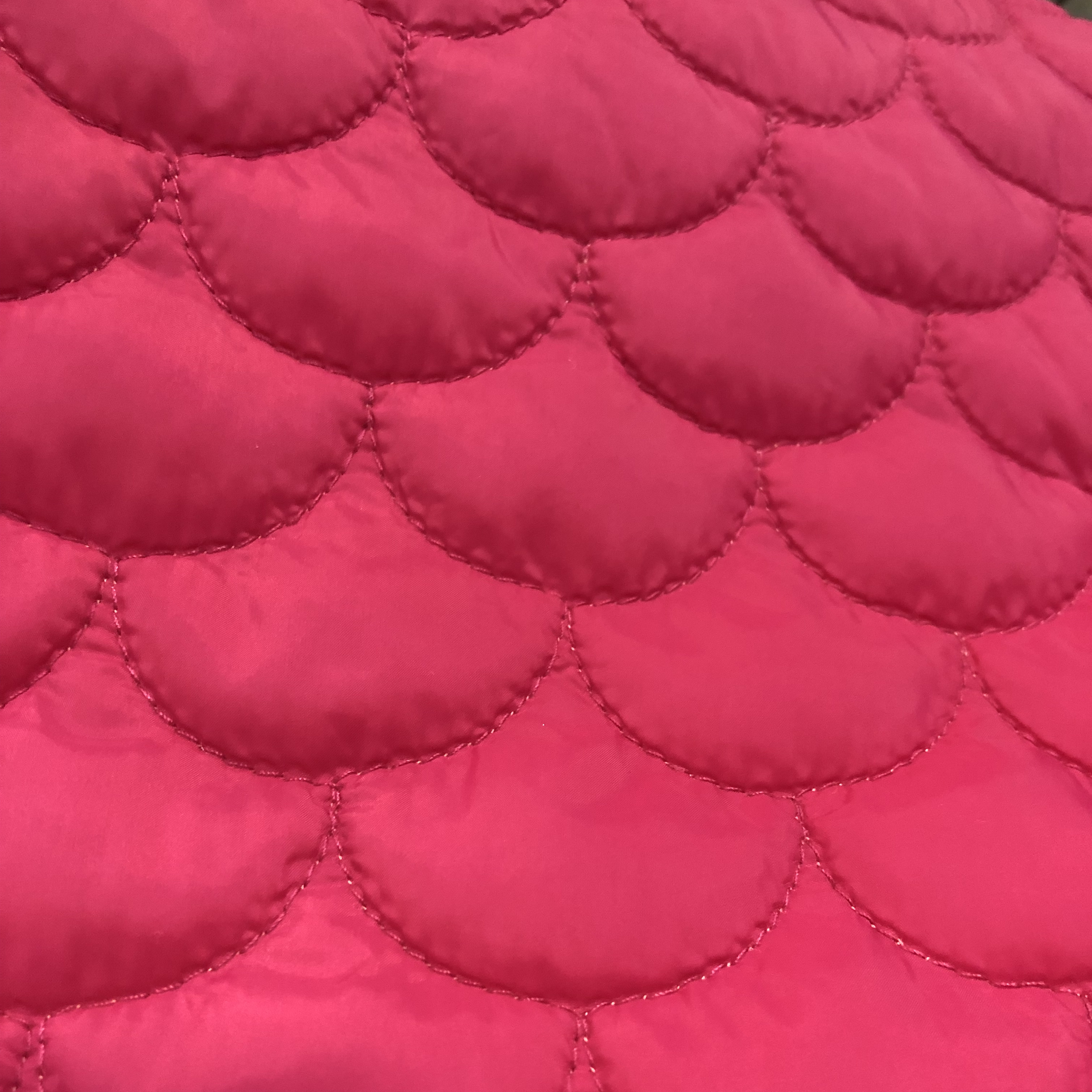 50D โพลีเอสเตอร์ pongee Quilted padding ผ้าสำหรับเสื้อ