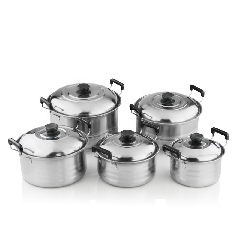 Cooking Pot Sets Kitchen Cookware Set