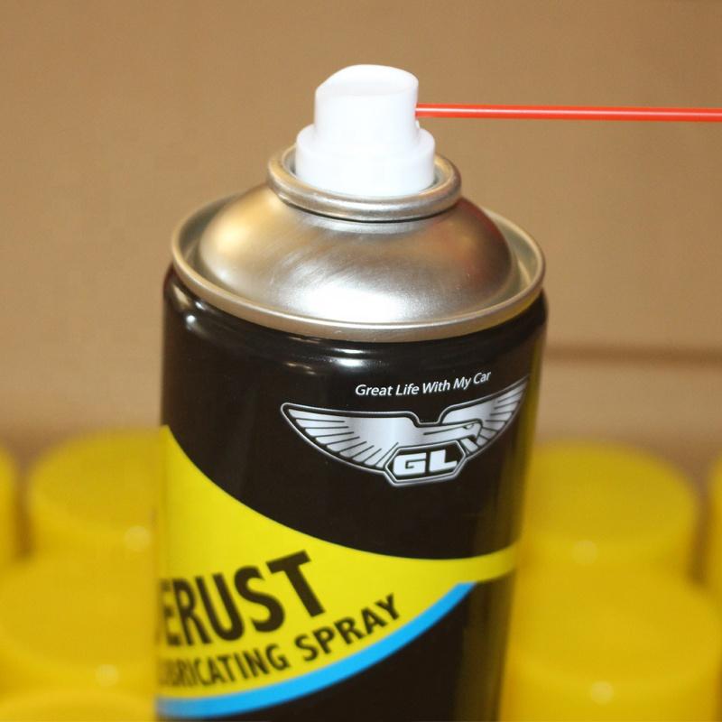 GL 450ml anti-rust lubricant oil spray