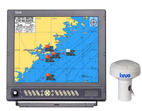XINUO 17 Inch AIS Transponder & GPS Marine with Chartplotter for Fishing Boat Navigation & GPS Chart plotter HM-5917