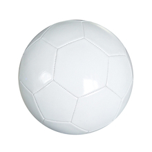 Promotionnel plaine gonflable blanc de football ballon DE football EN PVC de haute qualité