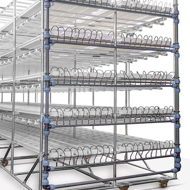 NFT channel vertical hydroponic systems