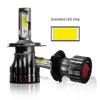 Super Bright K7 12 Volt Offroad Truck 8000Lm 9012 Hb3 Hb4 H1 H4 H7 H11 9007 Led Headlight Bulb For Cars