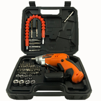 46pcs Professional Mechanic Electrician Driver Drill Tool Set