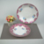 Elaborate processing of customized wedding gifts crystal porcelain tableware