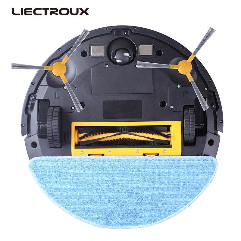 LIECTROUX C30B gyroscope smart memory robot vacuum cleaner for home cleaning