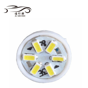 Wholesale Price Auto Parts T10 3014 6SMD Wedge Led Clearance Light DC12V Interior Lighting Sidemarker Sidelight Lamp Bulbs