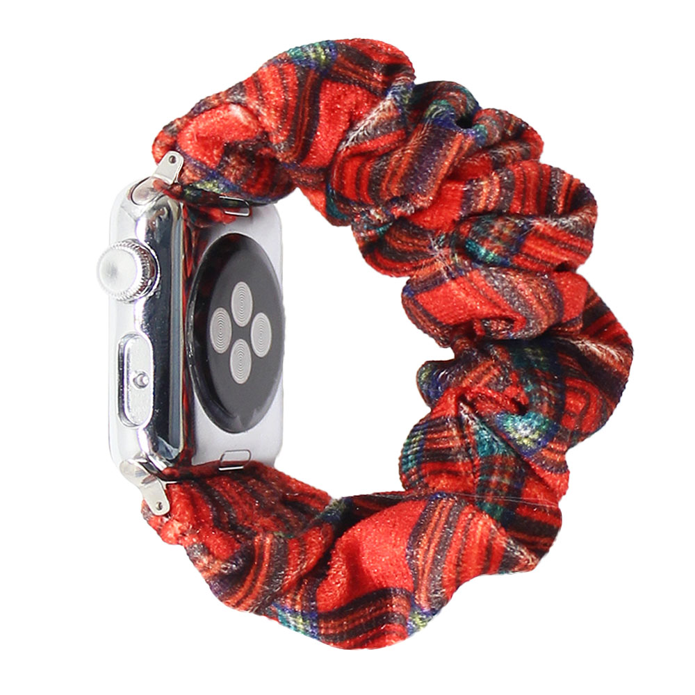 Wholesale Luxury Apple Watch Band Accessories 38/40mm For Apple Watch Band Box Scrunchie For Apple Watch Band Women