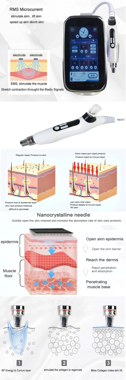 YanYi EMS RF Mesogun Nano Needle Meso Injection Mesotherapy Gun