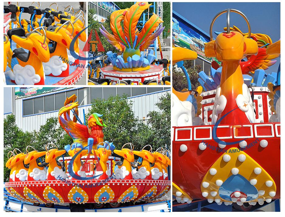China Kermisattracties Fabrikant Kermis Attractie Crazy Vliegende Ufo Rides