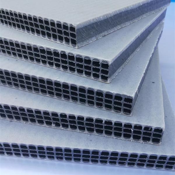 PP reusable 50 times hollow construction building plastic panel construction form work for column concrete system