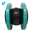 Rubber pipe fitting vibration damper Rubber connection Pipe coupling