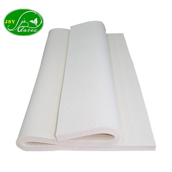 中国メーカー天然ラテックスフォームシートロール綿作るためマットレスソファ工場価格フェザーベッドトッパー品質ゴムシート