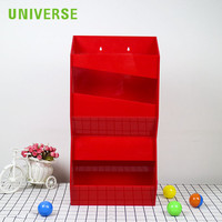 UNIVERSE curved acrylic display wall mounted display cabinet rack board