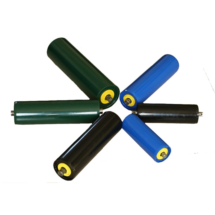 can be customized  small carrier plastic  roller belt conveyor idler roller  conveyor rollers