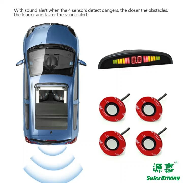 Saferdriving LED display car parking sensor  XY-5300