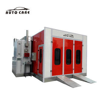 CE Approved Used Auto Paint Oven Spray Booths for Car Painting on Sale