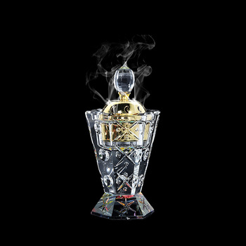 clear crystal chinese incense burner for sale