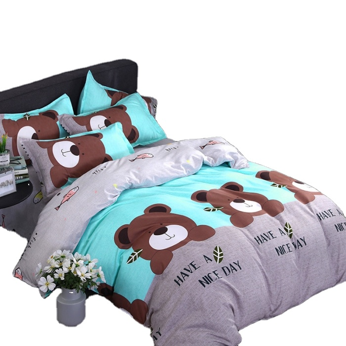 Home use polyester 3d children bedding sets wholesale bedding sets 3d baby kids Bed <strong>Sheet</strong>