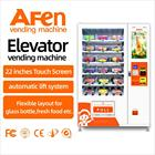 AFEN advertising screen noodles vendor compact combo vending machine with card reader