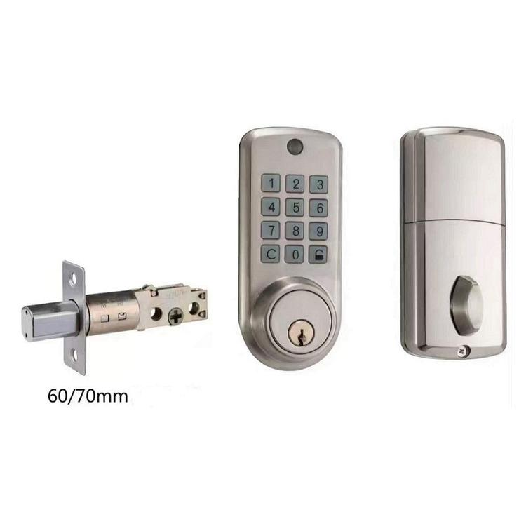 cerradura electronica para puerta de madera