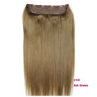 10 inch to 30 inch one piece clip in remy hair extensions full head, balayage clip in hair extensions 100% human hair european