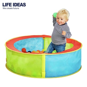 Wholesale commercial indoor circular shape playground plastic kids toy soft ball pit