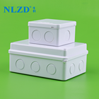 Rohs [ Abs ] Abs Electrical Junction Box China ABS Plastic Enclosure Outdoor Electrical Connection Waterproof Junction Box