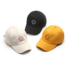 100% Cotton Mens And Womens Fashion Custom Dad Hats Casquette Baseball Caps With Smile Face