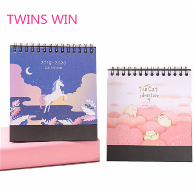 Full color printing special paper year planner calendar printing/wall calendar 129