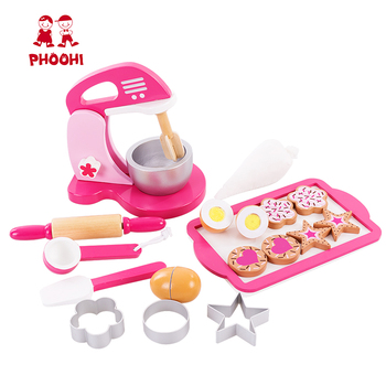 Kids Kitchen Accessories >> Children Pretend Play Kitchen Accessories Baking Set Wooden Egg Mixer Toy For Kids Buy Wooden Mixer Toy Baking Set Toy Play Kitchen Accessories