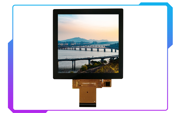 4inch 480*480 square display