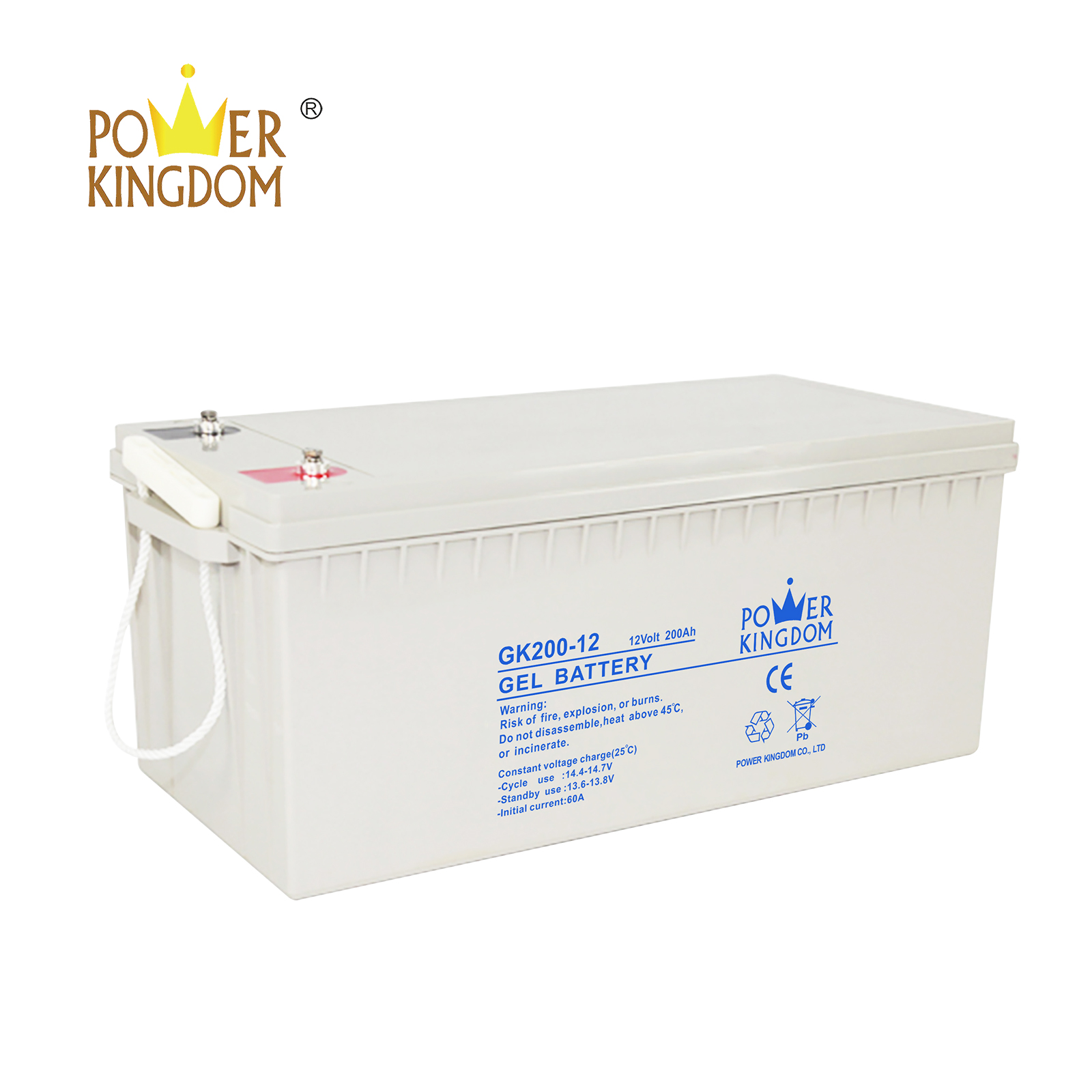 Power Kingdom Custom agm type battery manufacturers-3