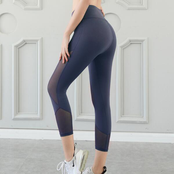 KZ1110 OEM hohe taille 92 polyester 8 spandex workout leggings